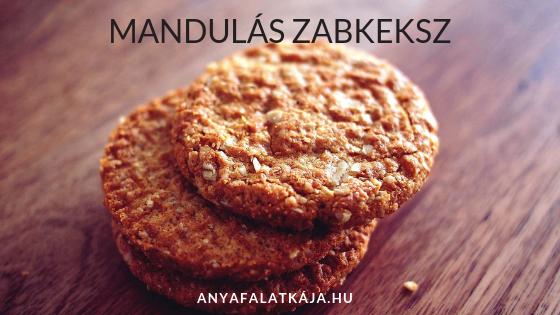 Mandulas-zabkeksz